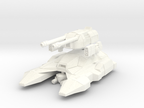 M1A7 MK2 in White Strong & Flexible Polished