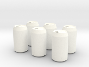 Soda Pack in White Processed Versatile Plastic
