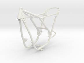 FuryFrameScaled in White Natural Versatile Plastic