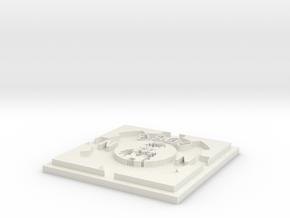 Shapeways Image Popper in White Natural Versatile Plastic