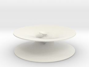 Genus One Minimal Surface with Four Ends in White Natural Versatile Plastic