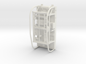 20-J mission - LRV pallet - Apollo 15 & 16 in White Natural Versatile Plastic