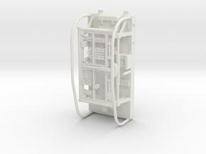 20-J mission - LRV pallet - Apollo 15 & 16 in White Natural Versatile Plastic