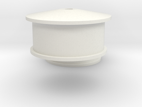 10mm wide ridge lexmark wheels in White Natural Versatile Plastic
