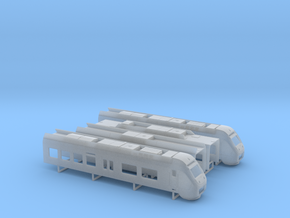 Sprinter Lighttrain  (1:160) in Smooth Fine Detail Plastic