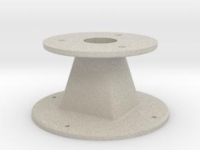 Throat adapter — custom job in Natural Sandstone