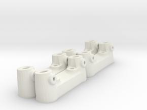 The universal scratch bar attachment in White Natural Versatile Plastic