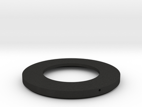 FL 19mm 3.5R Rear Dust Cover in Black Acrylic