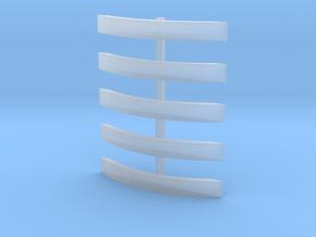 NER 1001 splashers in Smooth Fine Detail Plastic