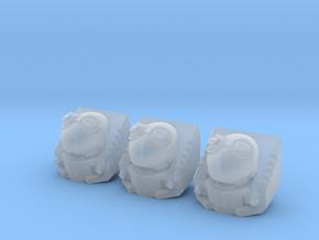 Autonomous Fodder Head (Smaller) x 3 in Smooth Fine Detail Plastic
