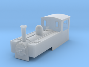 OO9 replacement body for liliput 0-6-2t  in Frosted Ultra Detail