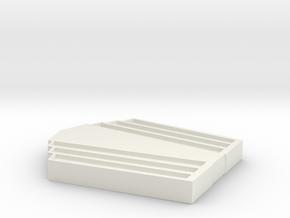 key handle back for smallville metropolis key in White Natural Versatile Plastic