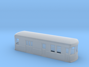N gauge short trolley RPO in Smooth Fine Detail Plastic