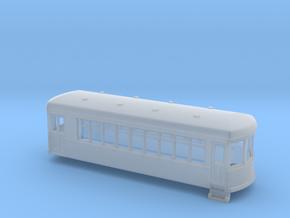 N gauge short trolley -  combine no1 in Smooth Fine Detail Plastic