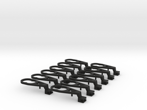 TT Peresvet NEM coupler mount in Black Natural Versatile Plastic