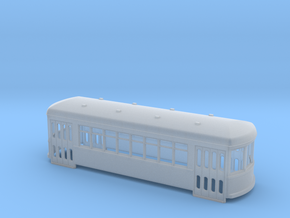 N gauge short trolley City car 8 window in Smooth Fine Detail Plastic