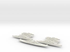 1/2400 British never were fleet in White Natural Versatile Plastic