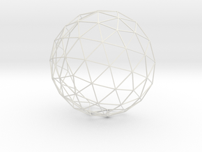 12cm GeodesicDome in White Strong & Flexible
