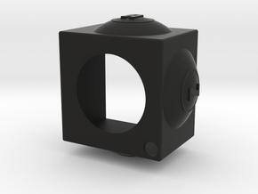 AZB Chalk Holder (Hole for String) in Black Natural Versatile Plastic