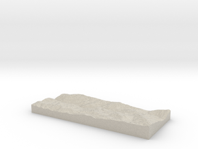 Model of Pacific in Sandstone
