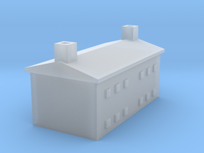 1/700 Farm House 1 in Smooth Fine Detail Plastic