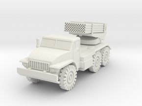 BM-21 Grad in White Natural Versatile Plastic