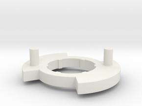 Left Disk for Bugaboo Gen 3 in White Natural Versatile Plastic