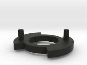 Left Disk for Bugaboo Gen 3 in Black Natural Versatile Plastic