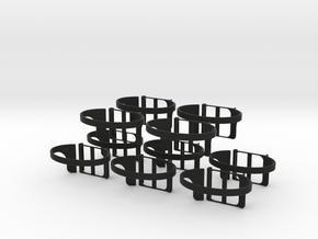 nanolet   large x10 in Black Natural Versatile Plastic