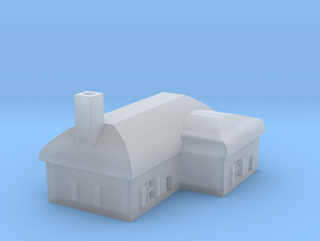 1/700 Villiage House 2 in Smooth Fine Detail Plastic