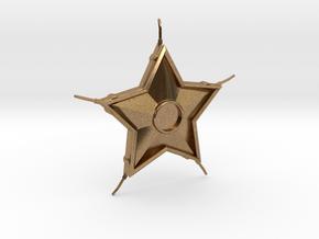 Smallville Starro Device Replica Prop in Natural Brass