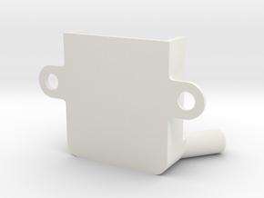 Frsky D4r V Mount Vertical V2 in White Natural Versatile Plastic