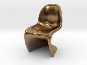 Panton Chair Scale 1/10 (10%) in Natural Brass
