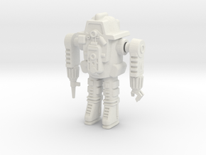 GV10 Powered Armor (28mm) in White Strong & Flexible