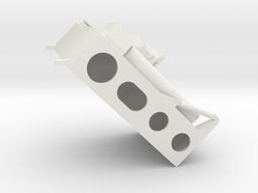 14-MESA Simple in White Natural Versatile Plastic