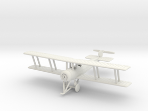1/144 Avro 504K (two-seater) in White Natural Versatile Plastic