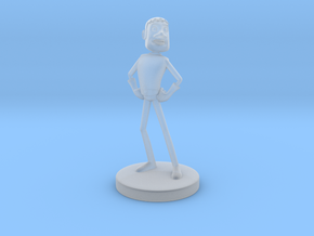 Johnny Blender 3 - JB3 - Full-Color Statue in Smooth Fine Detail Plastic