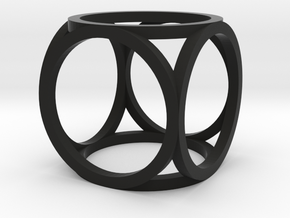 oCube Medium in Black Strong & Flexible