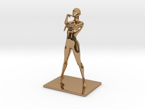 Coco Rocha Pose 325 in Polished Brass