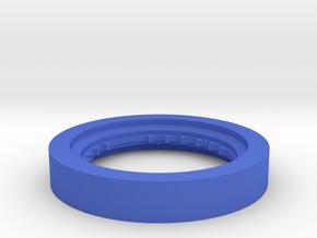Fischertechnic Wheelbase in Blue Processed Versatile Plastic