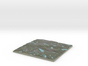 Terrafab generated model Mon Apr 07 2014 22:13:29  in Full Color Sandstone