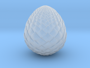 Game Of Thrones - Dragon Egg in Smooth Fine Detail Plastic