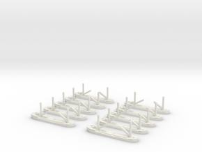 Angeln (Collier) 1/1800 x10 in White Natural Versatile Plastic