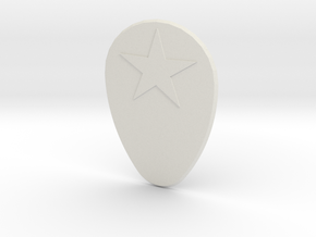 Starpick in White Natural Versatile Plastic