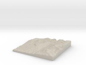 Model of Elephant Head Rock in Natural Sandstone