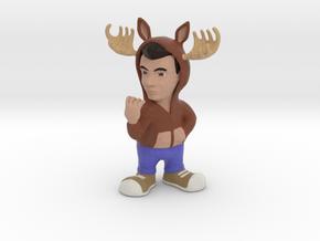 GhostFacers Harry (Moose Hoodie) in Full Color Sandstone