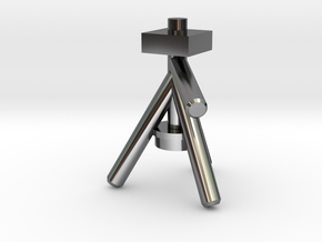 Camera Tripod for Lego Cameras in Fine Detail Polished Silver