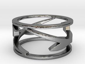 Gliders Ring Size 8.25 in Premium Silver