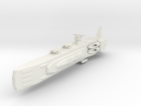 Shadow Rift Mechanized Empire Cruiser in White Strong & Flexible