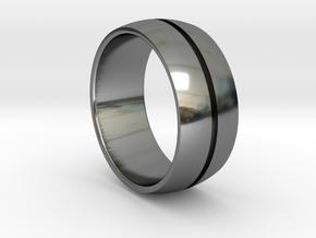 Keller Ring in Fine Detail Polished Silver
